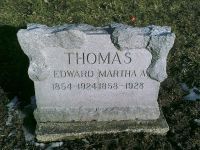 Thomas Edward Thomas (1854-1924) & Martha Ann Haverstick (1858-1928)