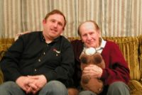 Steve Howard- Lavon Vernon and Teddy Bear- March 2002.
