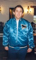 Steve Howard was an avid Sharks Hockey fan