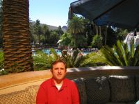 Steve Howard at Mirage Hotel in Las Vegas- Sep 03