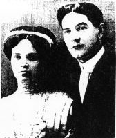 Reuben & Paulina Horwitz- in Canada- before they came to Chicago. What a handsom couple.
